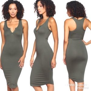 Dresses & Skirts - Olive Midi Dress